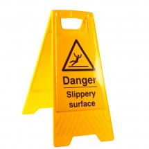 Slippery Surface Floor Stands