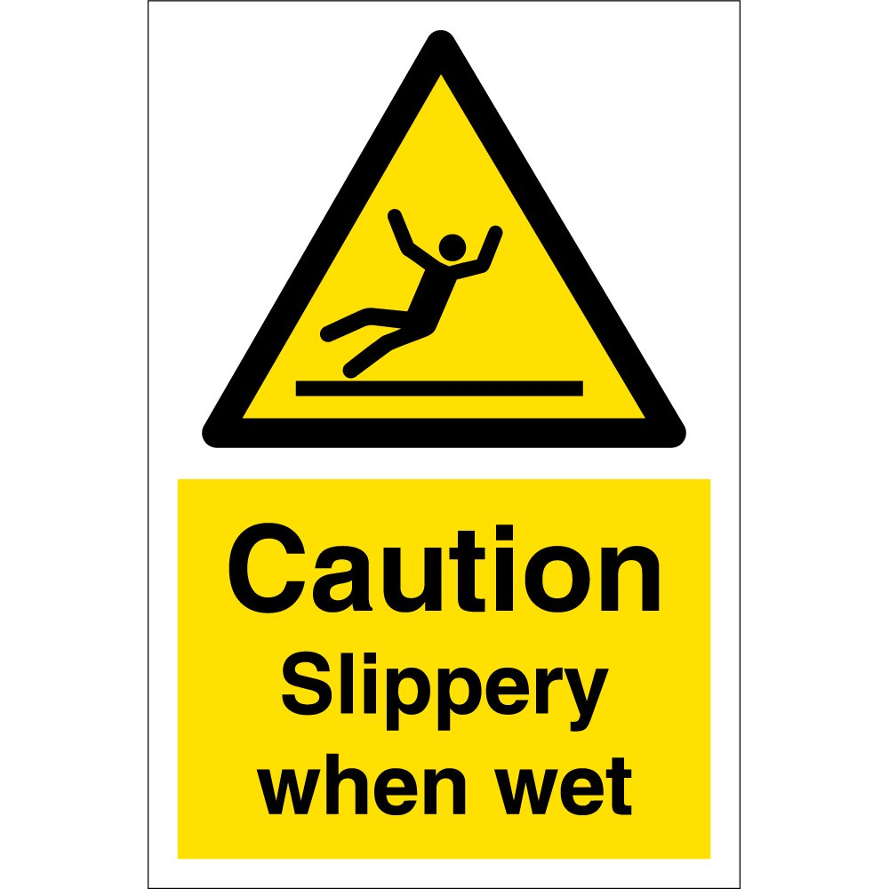 Slippery Stairs Sign Caution - The Signmaker