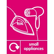 Small Appliances Signs