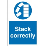 Stack Correctly Signs
