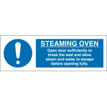 Steaming Oven Signs