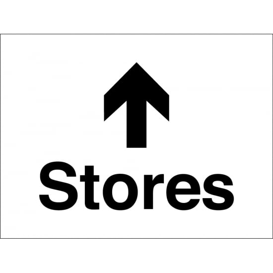 Stores Arrow Up Signs