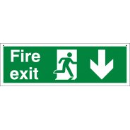 Suspended Fire Exit Signs