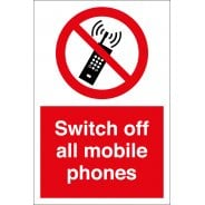 Switch Off All Mobile Phones Signs