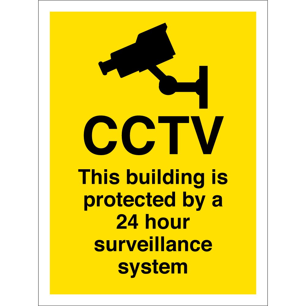 This Building Is Protected By A 24 Hour Surveillance