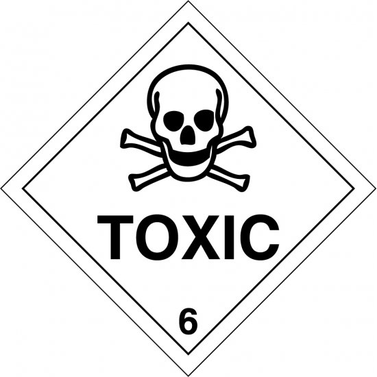 Toxic 6 Labels