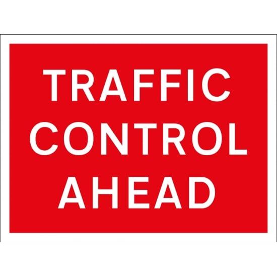 Traffic Control Ahead Signs