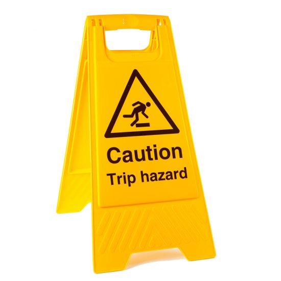 Trip Hazard Floor Stands
