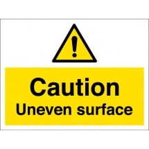 Uneven Surface Signs