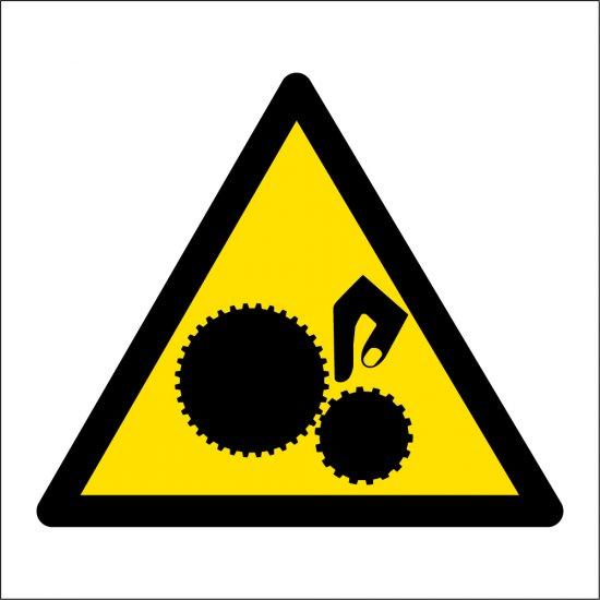 Unguarded Parts Labels
