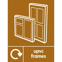 UPVC Frames Waste Recycling Signs