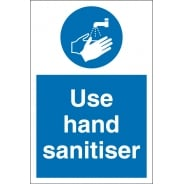 Use Hand Sanitiser Signs