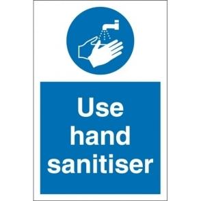Use Hand Sanitiser Signs