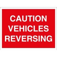 Vehicles Reversing Signs