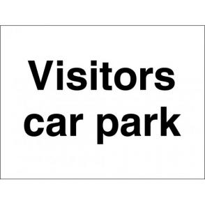 Visitors Car Park Signs
