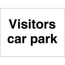 Visitors Car Park Signs
