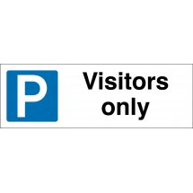 Visitors Only Parking Signs
