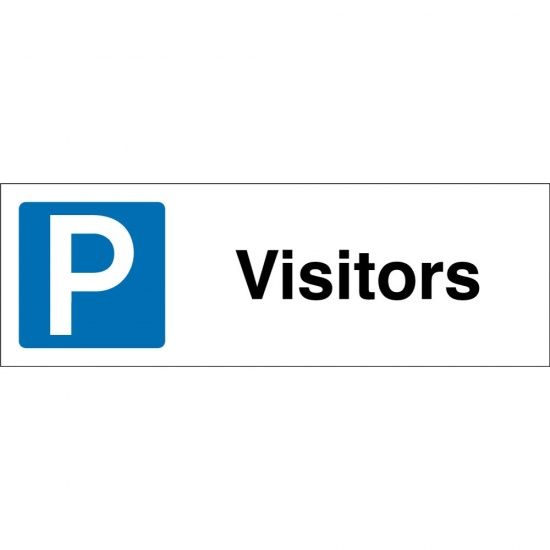Visitors Parking Signs