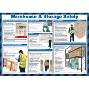Warehouse And Safety Storage Posters 590mm x 420mm