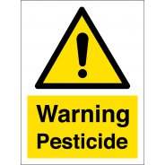 Warning Pesticide Signs