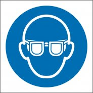 Wear Eye Protection Safety Signs