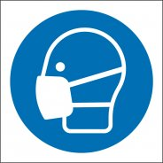 Wear Face Mask Safety Signs
