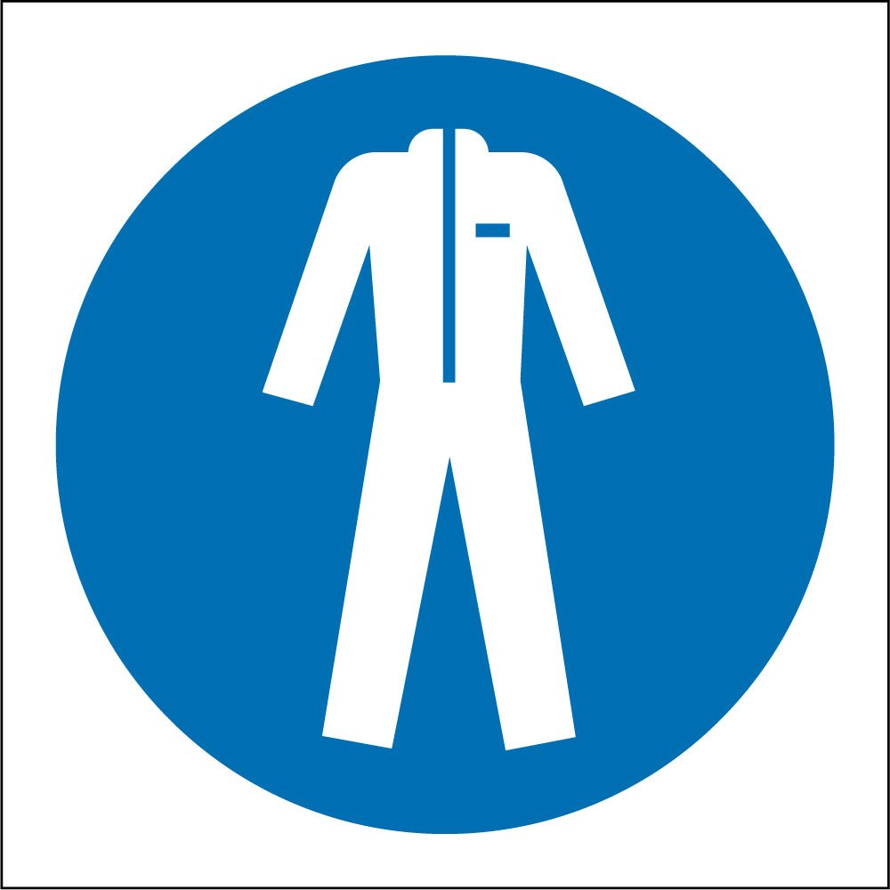 wear protective clothing signs from key signs uk