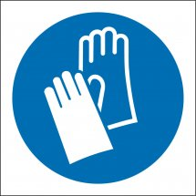 Wear Protective Gloves Signs