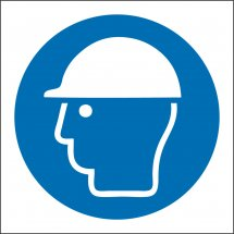 Wear Safety Helmets Signs