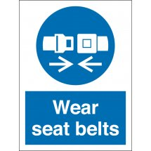Wear Seat Belts Signs