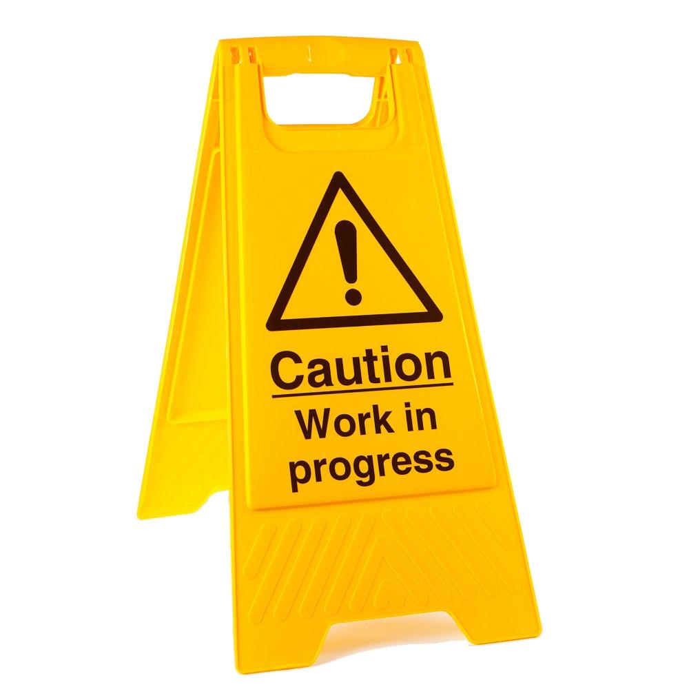 Work In Progress Floor Stands - from Key Signs UK