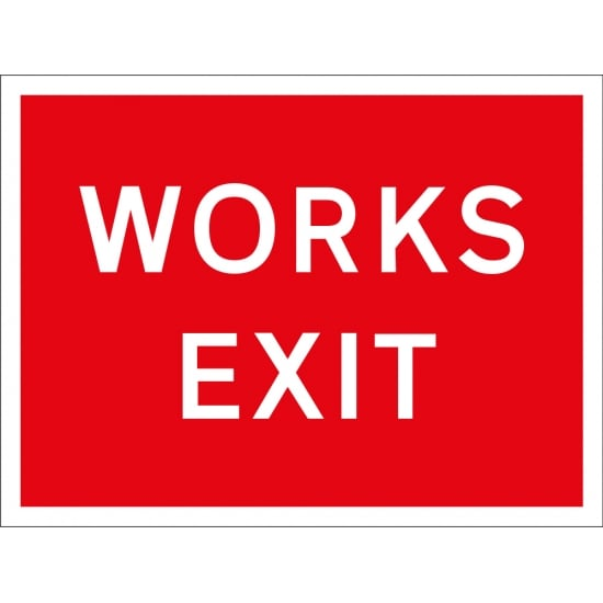 Works Exit Signs