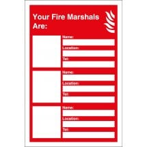 Your Fire Marshals Are Signs
