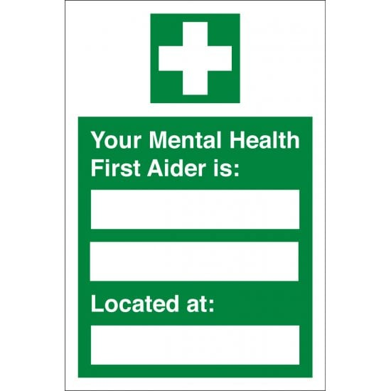 Your Mental Health First Aider Located At Signs