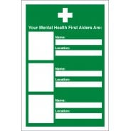 Your Mental Health First Aiders Are Signs
